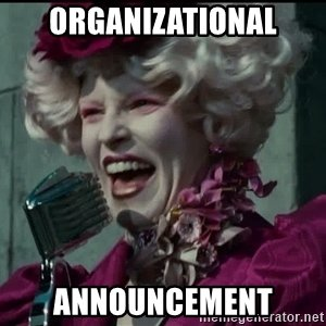 organizational-announcement