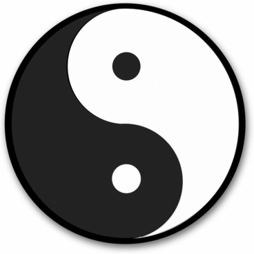 Chinese symbol for yin & yang